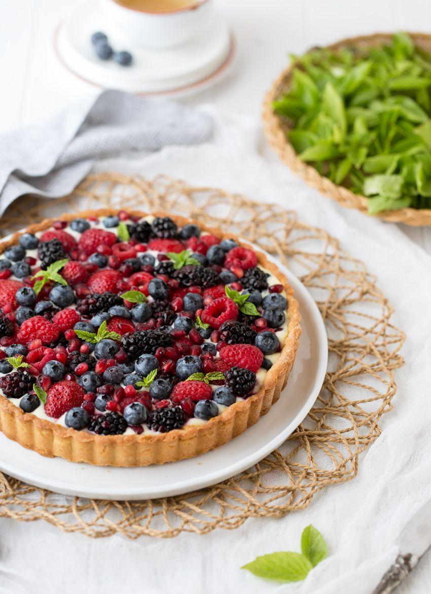 """<p>With a variety of fresh berries in season, this dessert is the best way to enjoy them this summer.</p><p><strong>Get the recipe at <a href=""""http://www.foolproofliving.com/summer-berry-tart/"""" rel=""""nofollow noopener"""" target=""""_blank"""" data-ylk=""""slk:Foolproof Living"""" class=""""link rapid-noclick-resp"""">Foolproof Living</a>. </strong></p>"""