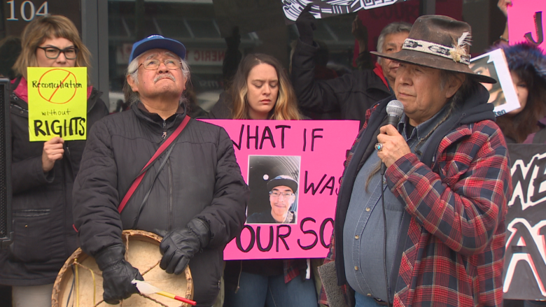 'Justice for Colten' rally held outside Justice Minister's office in Vancouver