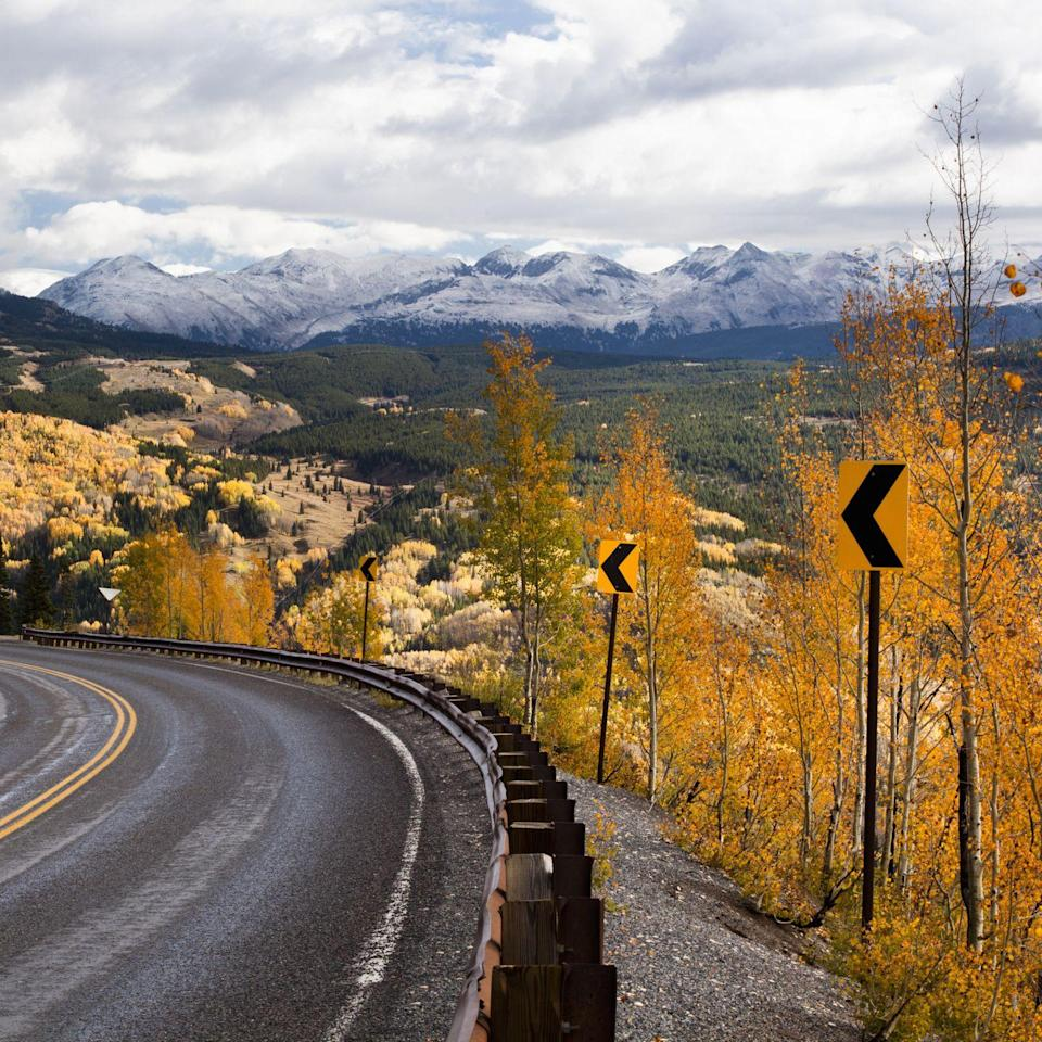 <p>Catch a glimpse of the snow-capped San Juan Mountain ranges when you pass through Southwest Colorado. Given the beautiful scenery, it's nearly impossible to make a regrettable wrong turn.</p>