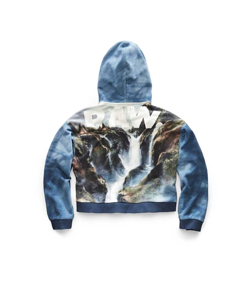 """<p>Cyrer Water Hooded Sweat, $210, <a rel=""""nofollow"""" href=""""https://fave.co/2Pn68Rj"""">g-star.com </a> </p>"""