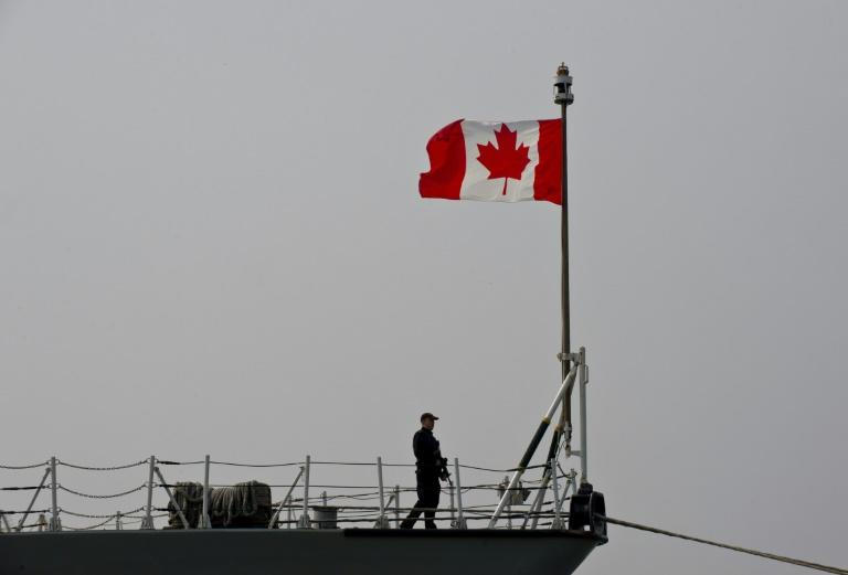 Canadian military helicopter crashes off Greek coast