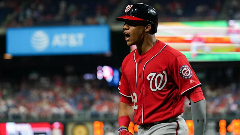 new style e60a9 5960f Washington Nationals Roundup: Juan Soto stays hot to power ...
