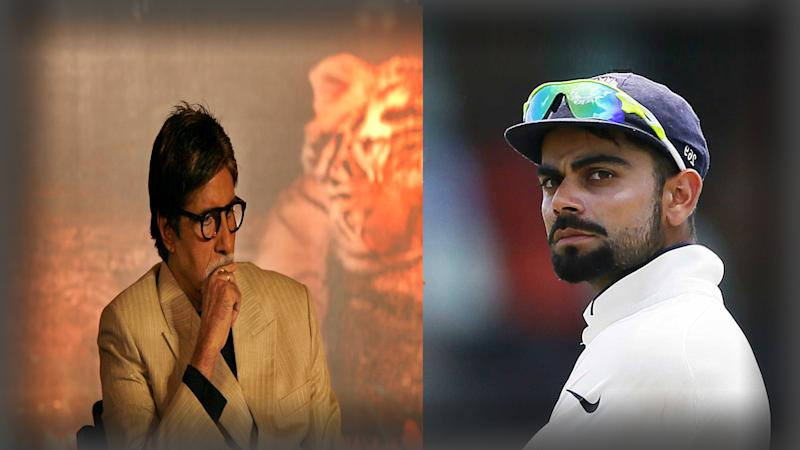 Forget Brad Hodge, Virat! Big B Has Your Back, At Least on Twitter