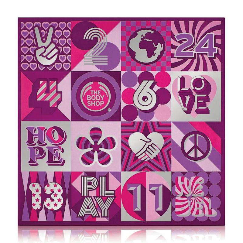The Body Shop's advent calendars start at $100. Source: The Body Shop