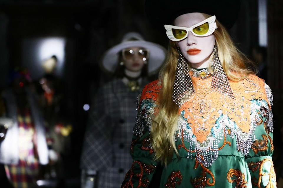 """<p>Gucci didn't show a collection in Milan as it usually would during fashion week in September. </p><p>In May, the brand announced it would step away from the traditional show schedule, with Alessandro Michele announcing it's time to 'lead its own rhythm… [and] take ownership of its calendar.' </p><p>What we will see instead of a show, this time around, is a digital film festival - a miniseries directed by Gus van Sant, starring blockbuster talent including superstars Billie Eilish and Harry Styles, that will reveal the collection over a period of seven days. </p><p>GucciFest will also be screening fashion films that will showcase the work of the industry's brightest young talent: Ahluwalia, Shanel Campbell, Stefan Cooke, Cormio, Charles De Vilmorin, JordanLuca, Mowalola, Yueqi Qi, Rave Review, Gui Rosa, Rui, Bianca Saunders, Collina Strada, Boramy Viguier, and Gareth Wrighton.</p><p>The virtual fashion film festival will be streamed on YouTube, Weibo, and the dedicated site GucciFest.com from November 16 to 22.</p><p><a class=""""link rapid-noclick-resp"""" href=""""https://www.guccifest.com/#/en/signup"""" rel=""""nofollow noopener"""" target=""""_blank"""" data-ylk=""""slk:SIGN-UP FOR UPDATES"""">SIGN-UP FOR UPDATES</a></p>"""