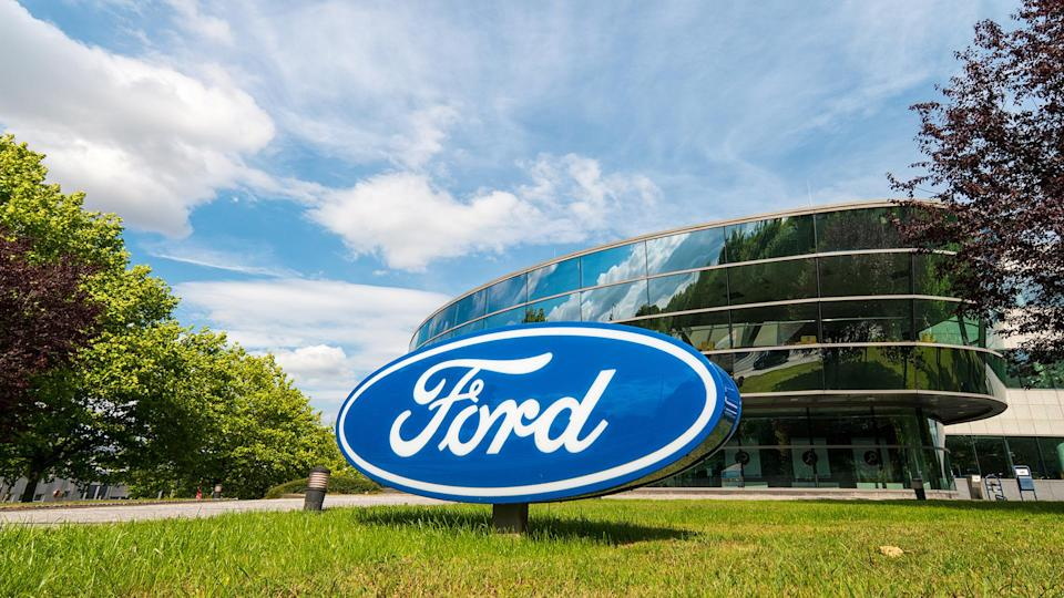 Ford Motor Company sign logo