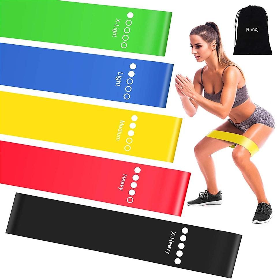 <p>These <span>Resistance Exercise Bands</span> ($10) are a home-gym necessity.</p>