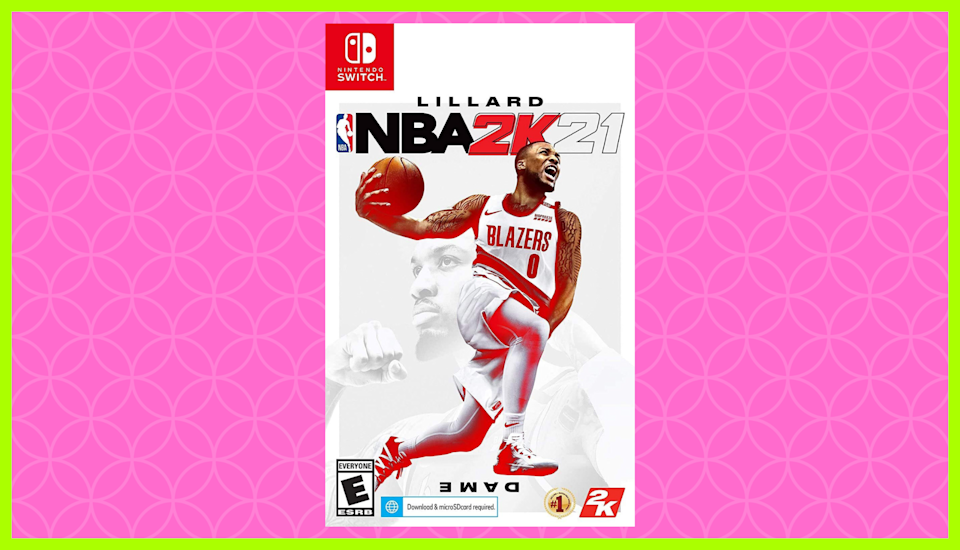 Amazing deal: Save nearly 70 percent on NBA 2K21 for Nintendo Switch. (Photo: Amazon)