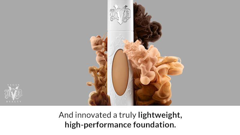 Innovated a truly lightweight, high-performance foundation.