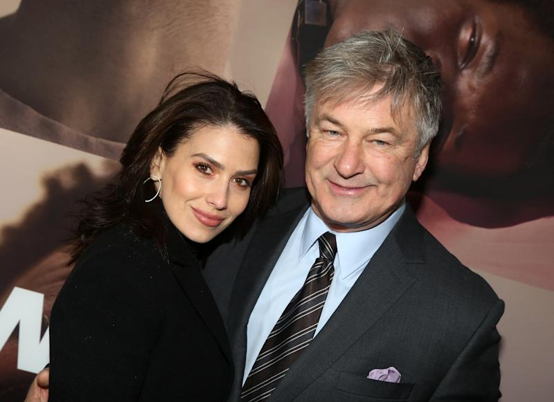 "Hilaria Baldwin reveals that Alec got her ""two extra stand up freezers"" to store breast milk. (Photo: Getty Images)"