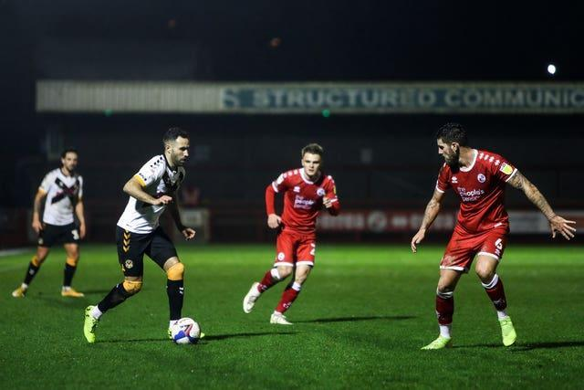 Crawley Town v Newport County – Sky Bet League Two – The People's Pension Stadium