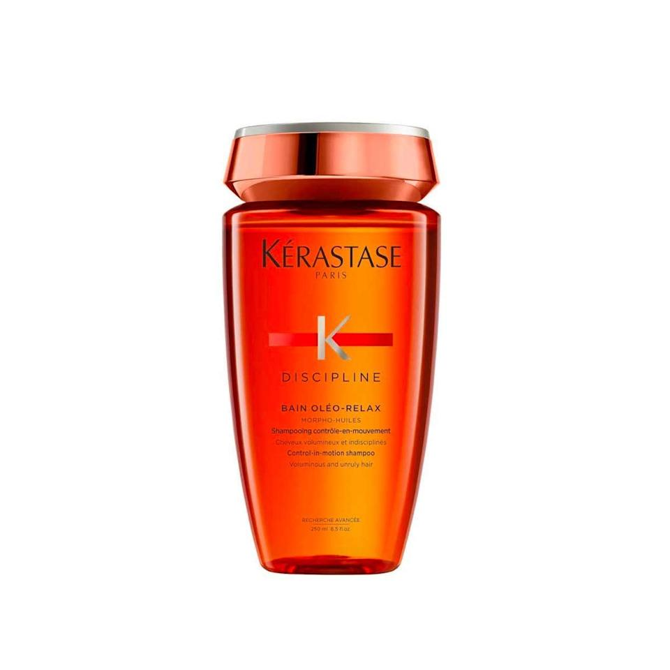 "My naturally wavy hair's number-one enemy is frizz, but adding a ton of heavy moisturizing ingredients only tends to weigh it down. This smooths without feeling heavy, and also detangles well enough that I can finger-comb my hair, which helps to preserve wave definition. —<em>Deanna Pai, beauty contributor</em> $28, Amazon. <a href=""https://www.amazon.com/Kerastase-Discipline-Bain-Oleo-Relax-Shampoo/dp/B07SLYYNT3/ref=asc_df_B07SLYYNT3/"" rel=""nofollow noopener"" target=""_blank"" data-ylk=""slk:Get it now!"" class=""link rapid-noclick-resp"">Get it now!</a>"
