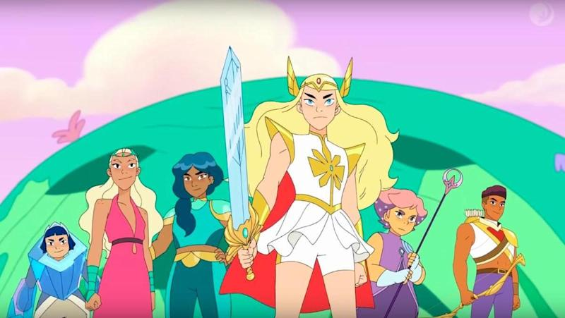 Netflix animated cartoon series She-Ra And The Princesses Of Power.