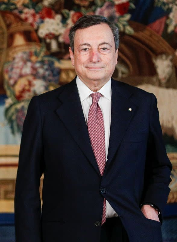 Prime Minister designate Draghi and his new government are sworn-in, in Rome