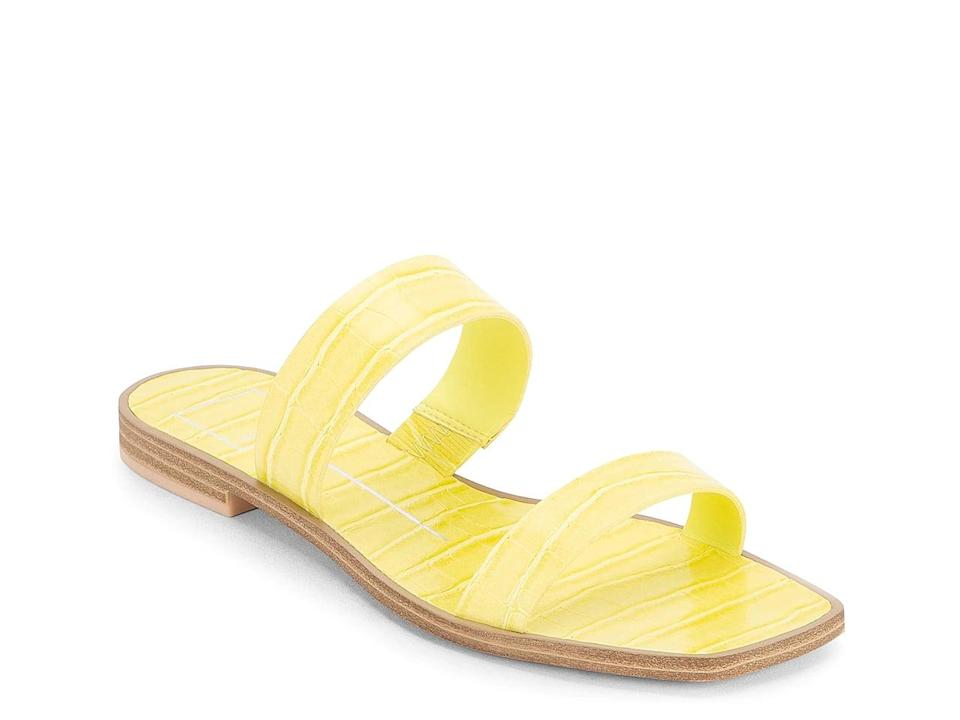 <p>Be bold and rock these vibrant <span>Dolce Vita Isaac Sandals</span> ($50, originally $60).</p>