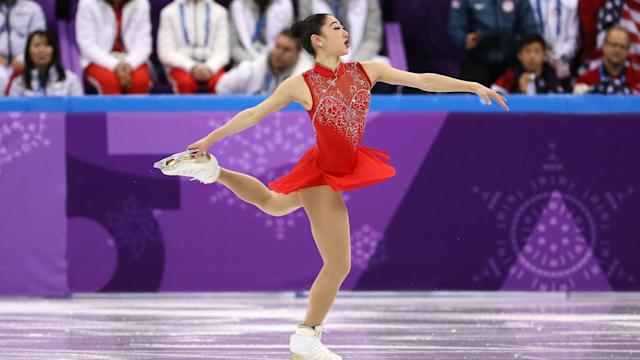 "The U.S. figure skater told People Magazine she had ""literally cried my way through these Olympic Games."""