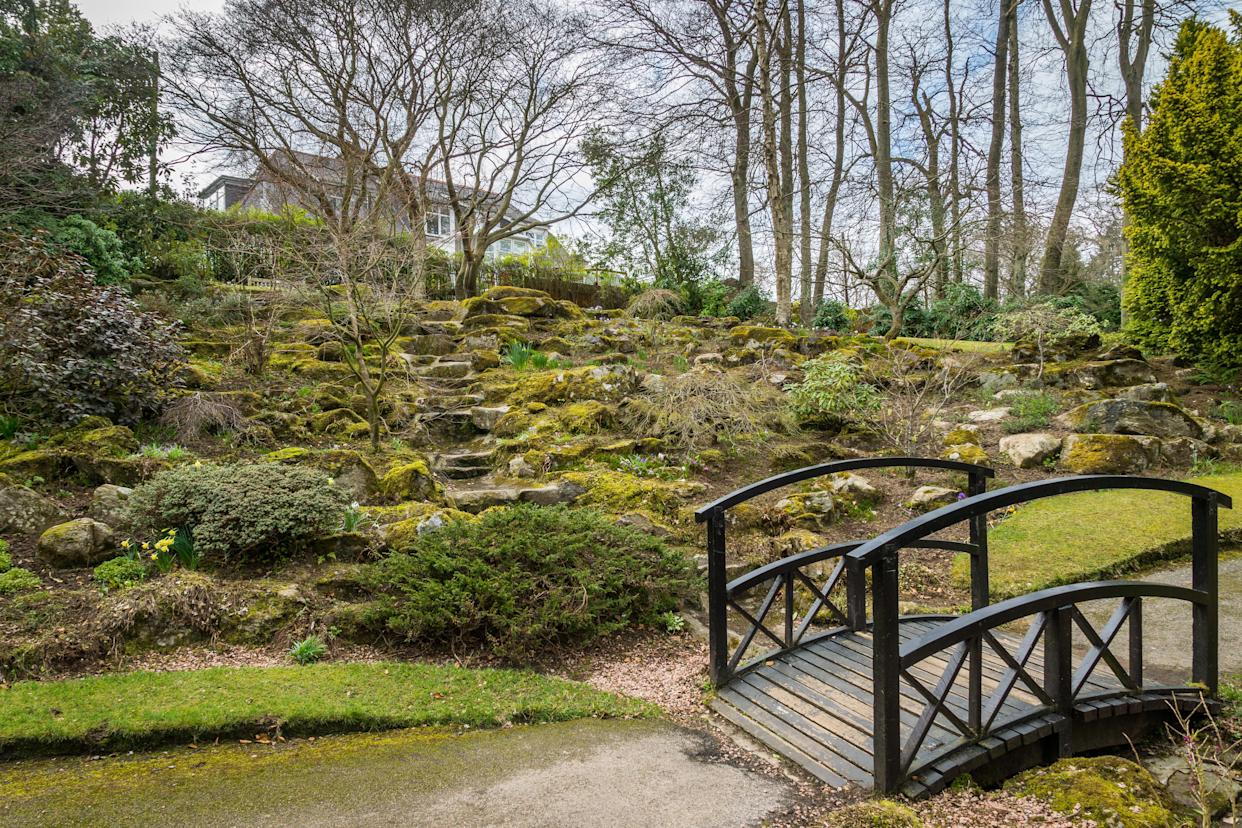 Aberdeen's Johnstone Gardens are beautiful all year round (Getty Images)
