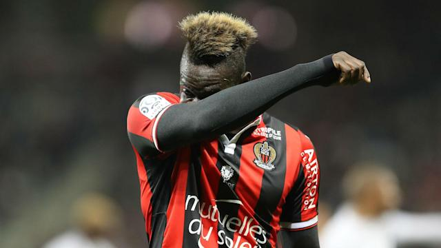 The Italy international was restricted to just two minutes as Nice's Ligue 1 hopes collapsed - and still managed to get booked for dissent