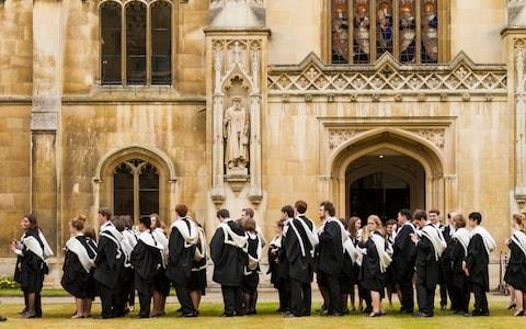 Cambridge University ranked third