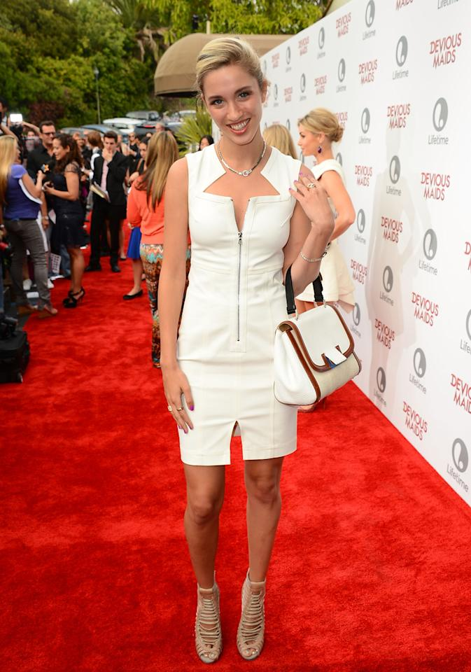 PACIFIC PALISADES, CA - JUNE 17: Actres Brianna Brown attends the premiere of Lifetime Original Series 'Devious Maids' at Bel-Air Bay Club on June 17, 2013 in Pacific Palisades, California. (Photo by Mark Davis/Getty Images)