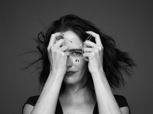 Eva Green poses for the #GiveHope by Bvlgari and Save the Children campaign