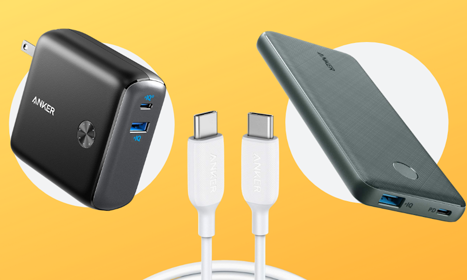Save up to 40 percent off Anker charging products, just for today! (Photo: Amazon)