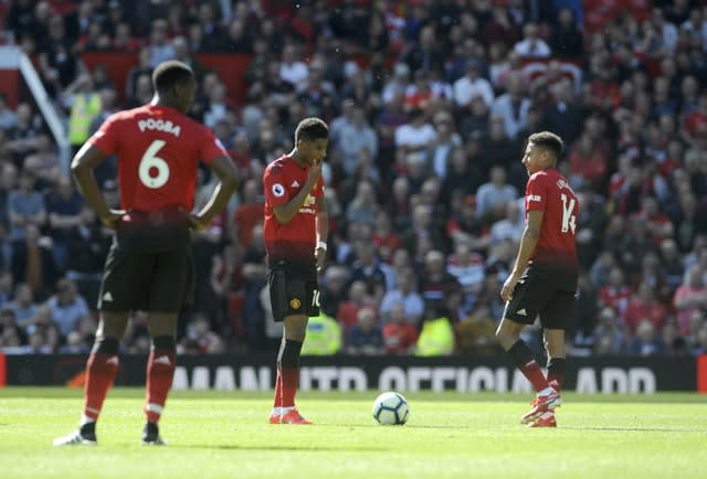 Image result for man united disappointed vs cardiff