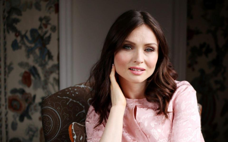 "Sophie Ellis-Bextor: ""There's so much stress and tension. When I jump around and sing my heart out, it goes away for a bit"" - Clara Molden for The Telegraph"