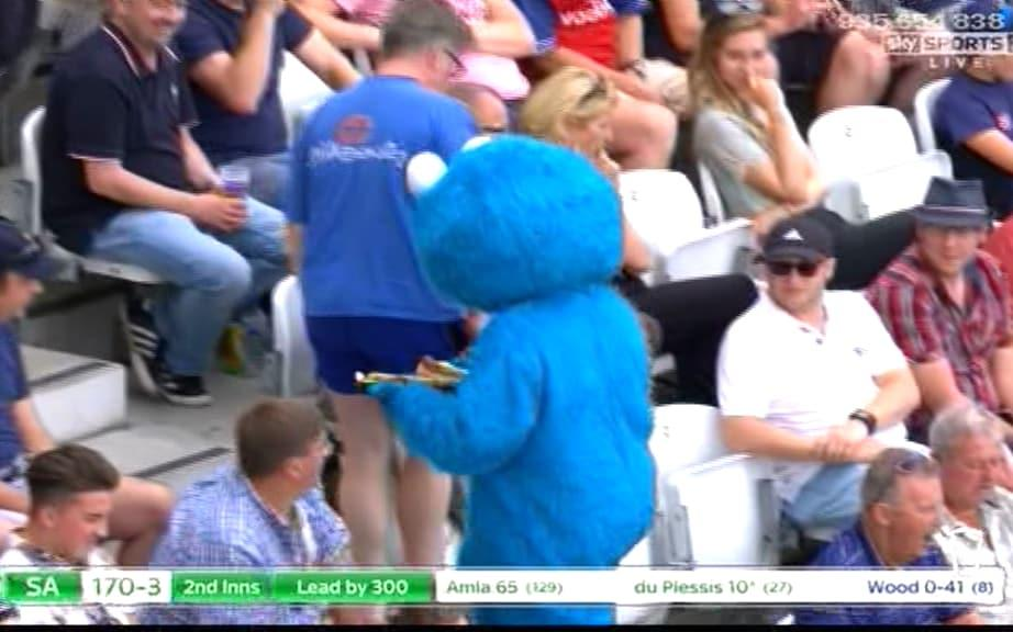 Cookie Monster - Credit: Sky Sports