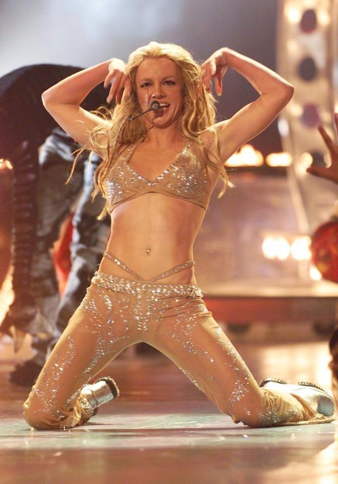 Britney Spears at the Radio City Music Hall in New York City, New York (Photo by Kevin Mazur/WireImage)