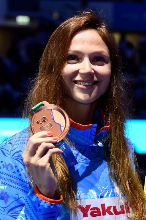 Aliaksandra Herasimenia won bronze at the 2017 World Swimming Championships in Budapest but now chairs the Belarusian Sport Solidarity Foundation which is opposed to Lukashenko