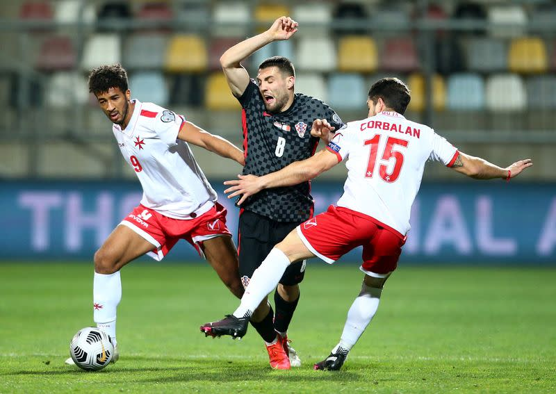 World Cup Qualifiers Europe - Group H - Croatia v Malta
