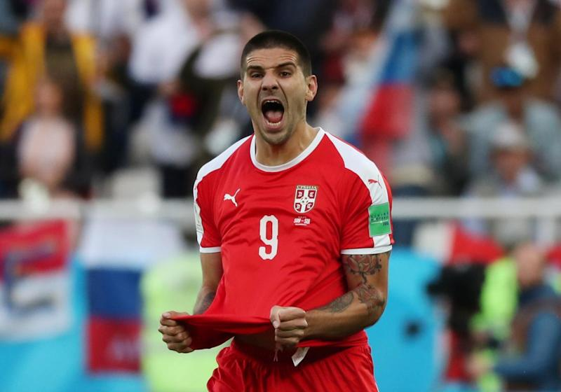 Mitrovic is on a break after his World Cup campaign with Serbia (REUTERS)