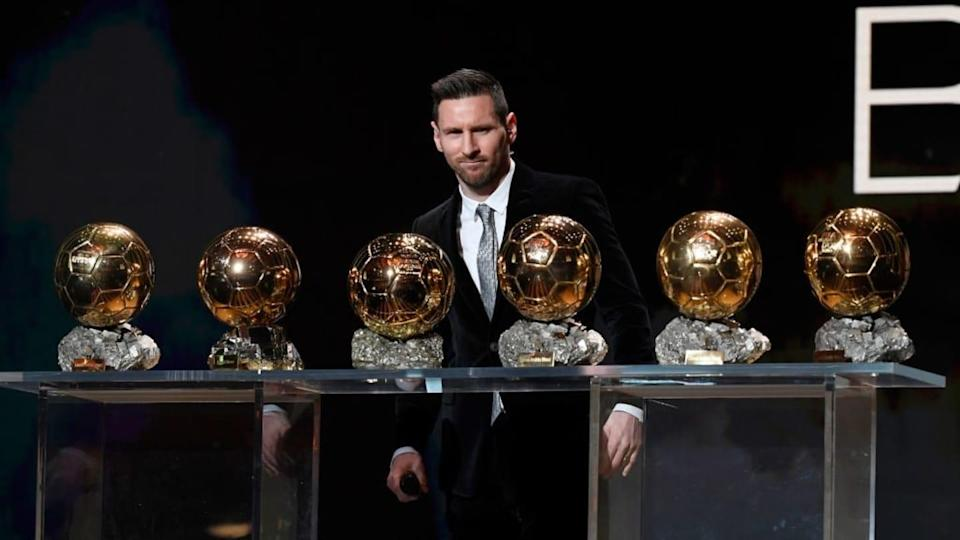 Ballon D'Or Ceremony At Theatre Du Chatelet : Inside Ceremony In Paris | Kristy Sparow/Getty Images