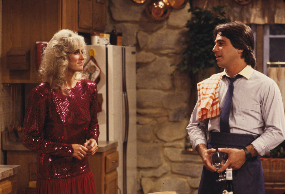 Judith Light and Tony Danza in an episode of <em>Who's the Boss?</em> (Photo: ABC Photo Archives/ABC via Getty Images)