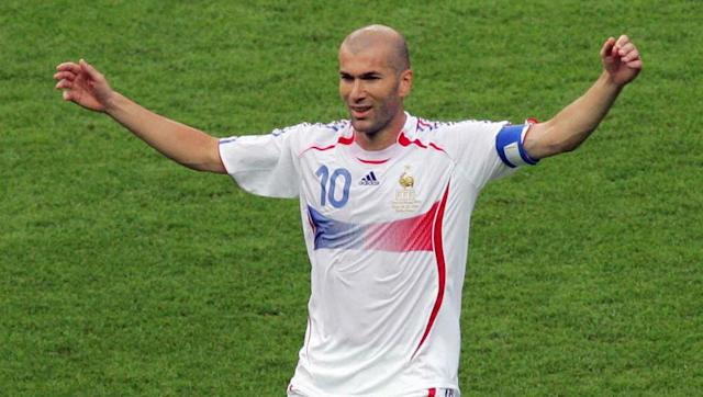 <p>Due to retire after the tournament, Zinedine Zidane's career ended in a flash during the 2006 World Cup final when he was sent off for headbutting Italy defender Marco Materazzi.</p> <br><p>France went on to lose in a penalty shootout and Zidane, who had already won the World Cup in 1998 and came out of international retirement to captain <em>Les Bleus</em>, was denied a fairytale ending to an already illustrious career.</p>