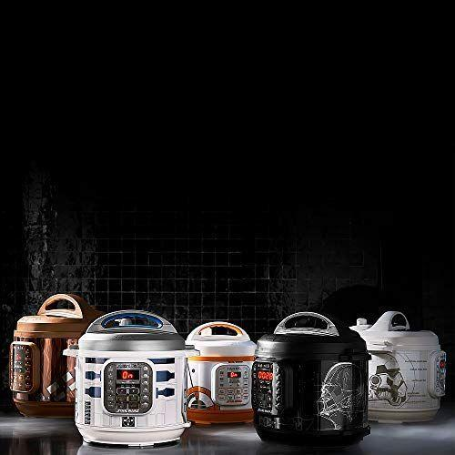 """<p><strong>Instant Pot</strong></p><p>amazon.com</p><p><strong>$99.99</strong></p><p><a href=""""https://www.amazon.com/dp/B08K3SX4N9?tag=syn-yahoo-20&ascsubtag=%5Bartid%7C10055.g.29624061%5Bsrc%7Cyahoo-us"""" rel=""""nofollow noopener"""" target=""""_blank"""" data-ylk=""""slk:Shop Now"""" class=""""link rapid-noclick-resp"""">Shop Now</a></p><p>Why did it take so long for us to be able to make soup in a droid? These six-quart Instant Pots come in a variety of Star Wars motifs, including R2-D2, Darth Vader, a Stormtrooper, Chewbacca, BB-8 and even Grogu.</p>"""