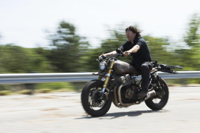 Norman Reedus as Daryl Dixon in 'The Walking Dead' (Photo Credit: Jackson Lee Davis/AMC)