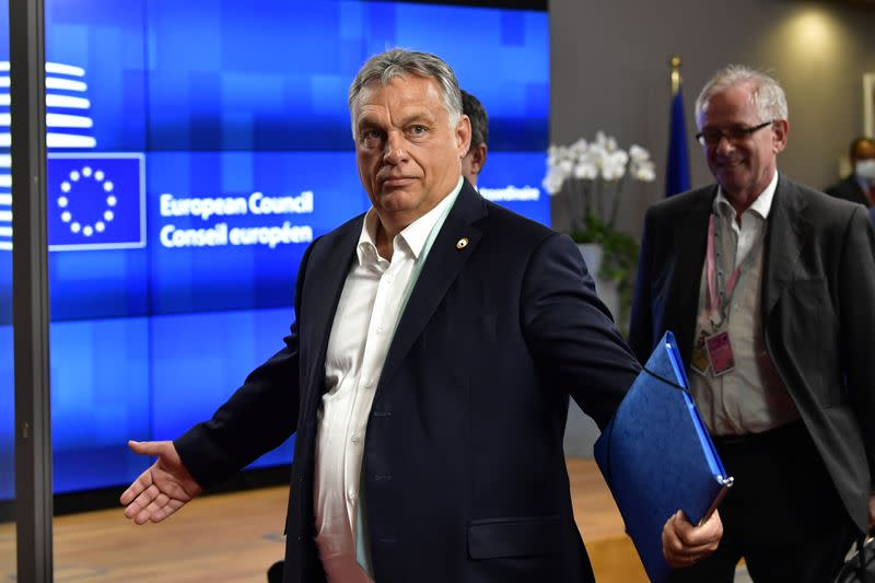 Hungary's Orban: 'the Dutchman' is responsible for EU summit disarray