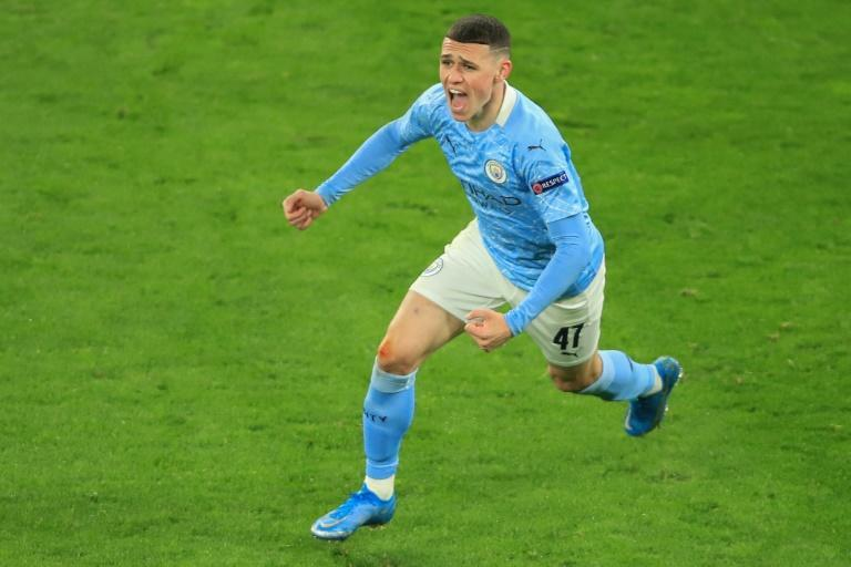 Homegrown hero: Phil Foden fired Manchester City into a first Champions League semi-final in five years under Pep Guardiola