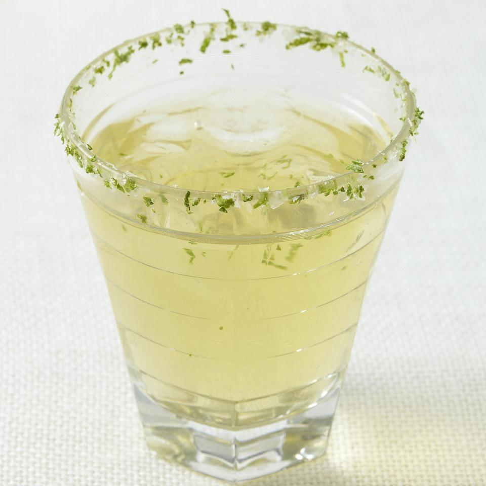 <p>This skinny margarita recipe saves 150 calories compared to traditional margarita recipes made with syrupy-sweet margarita mix and gets back to the basics--fresh lime juice, tequila and Triple Sec are all you need. Adding lime zest to the salt rim gives great flavor and cuts the salt in half.</p>