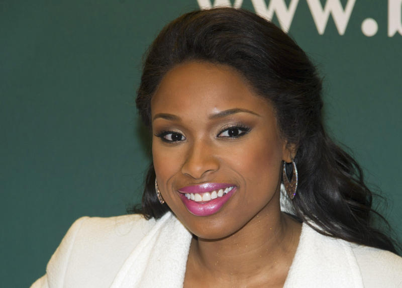 FILE - In this Jan. 10, 2012 file photo, singer and actress Jennifer Hudson attends a book signing in New York. A Chicago jury has convicted Hudson's former brother-in-law of murdering her mother, brother and 7-year-old nephew in what prosecutors described as an act of vengeance by a jilted husband. The jury convicted 31-year-old William Balfour on three-counts of first degree murder on Friday, May 11, 2012, after three days of deliberations. He faces a mandatory sentence of life in prison. (AP Photo/Charles Sykes, File)
