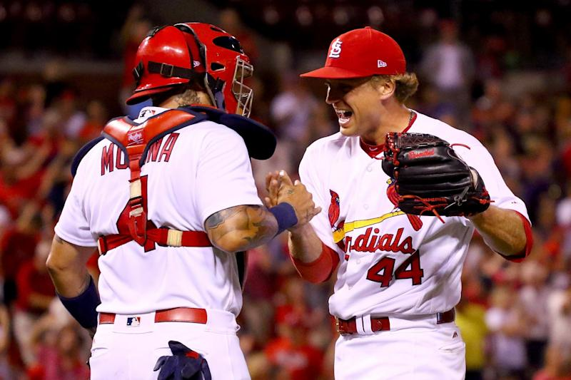St. Louis finally has an answer in the ninth, Trevor Rosenthal.