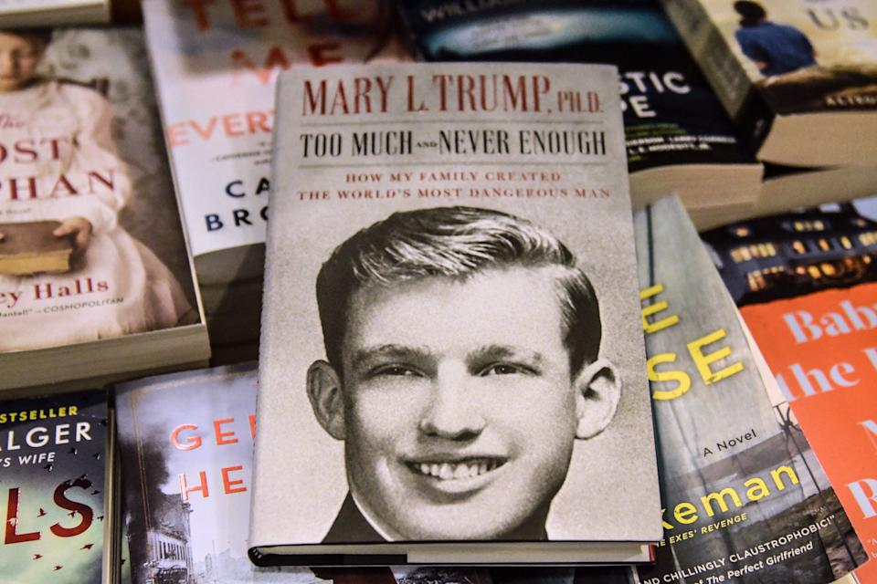 Although President Donald Trump sued to stop the release of his niece's tell-all book, a New York Supreme Court ruled it could be published. (Photo: Stephanie Keith via Getty Images)