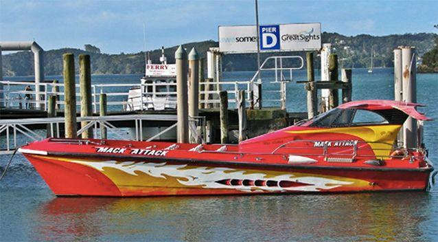 A high-speed boat operator has been ordered to pay fines totalling more than $93,000 after a 60-year-old passenger had her back broken when a vessel hit a large wave. Source: Maritime NZ/ Facebook