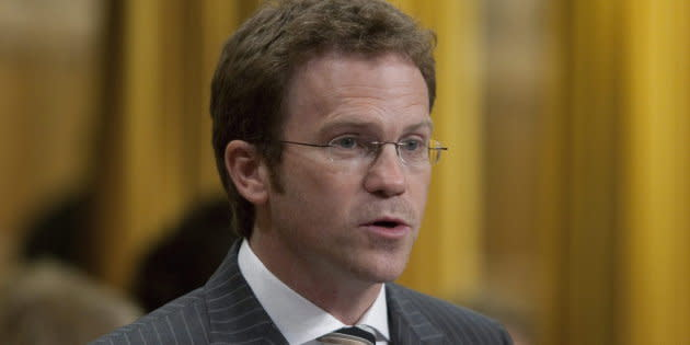 Newfoundland Liberal MP Scott Simms rises in the House of Commons on Sept. 22, 2010.