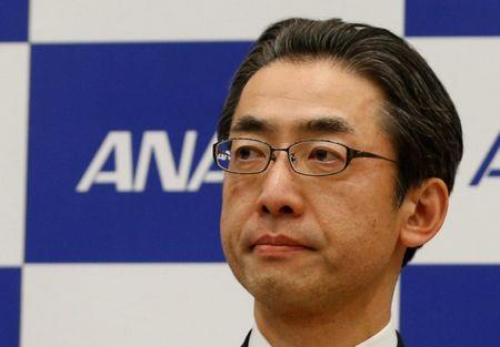 All Nippon Airways (ANA) Co's next President Yuji Hirako attend a news conference in Tokyo, Japan