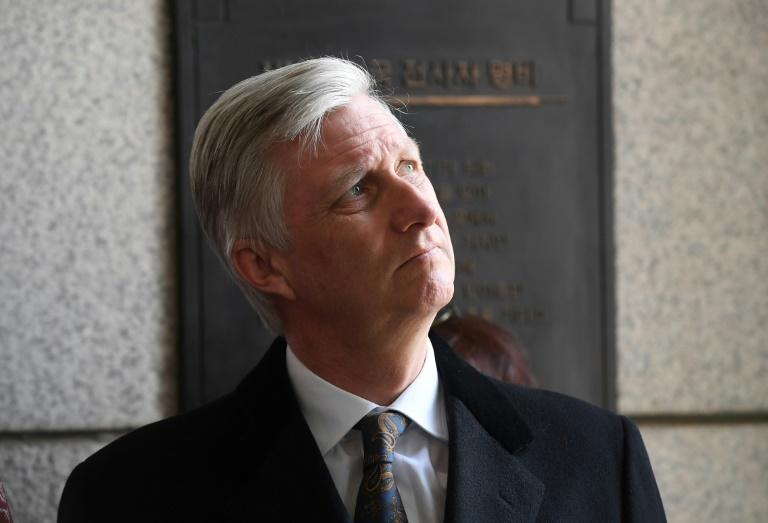King Philippe of Belgium said he would combat all forms of racism
