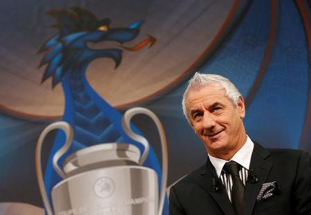 Former player and ambassador for the 2017 UEFA Champions League final in Cardiff Ian Rush attends the draw of the UEFA Champions League quarterfinals in Nyon, Switzerland March 17, 2017. REUTERS/Denis Balibouse
