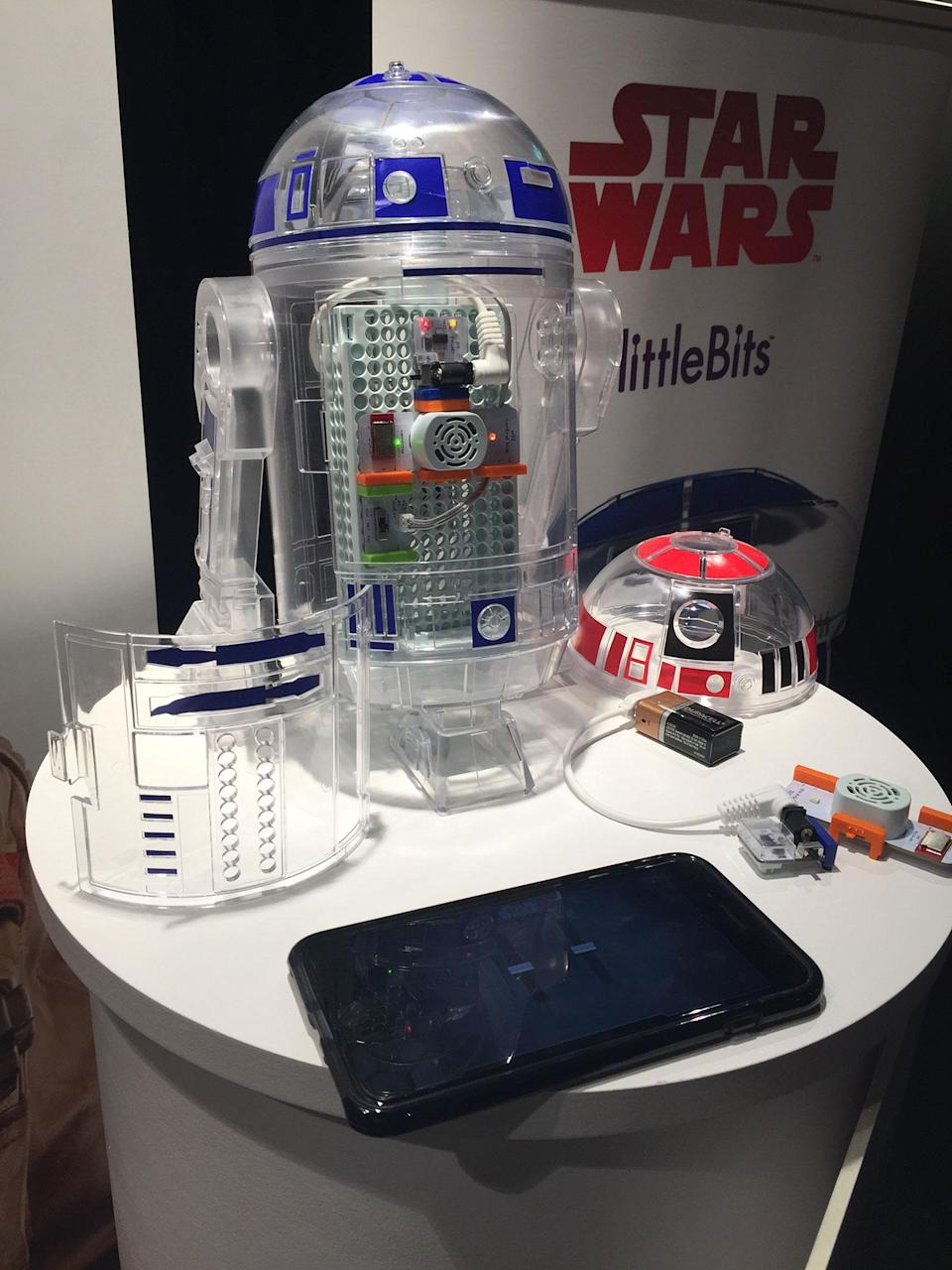 <p>Littlebits Droid Inventor Kit. (Yahoo Movies UK/Disney) </p>